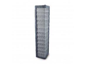 Škrabadlo pro kočky Argi rohové závěsné - šedé - 60 x 13 x 13 cm