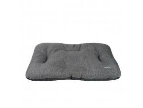 Polštář pro psa Argi - Palermo - tmavě šedý - 55 x 45 x 6 cm