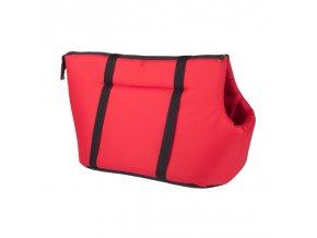 Taška pro psa Argi z polyesteru - červená - 35 x 21 x 24 cm