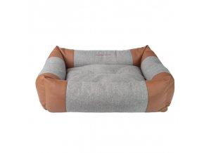 Pelech pro psa Argi obdélníkový - Classic - světle šedý - 58 x 46 x 17 cm