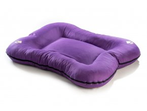 Matrace pro psa Argi z polyesteru - fialová - 90 x 70 cm