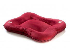 Matrace pro psa Argi z polyesteru - červená - 110 x 90 cm