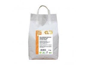 GASTRO - Mouka pšeničná celozrnná hrubě mletá 4 kg BIO BIOHARMONIE