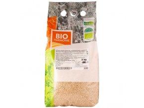 GASTRO - Rýže kulatozrnná natural 3 kg BIO BIOHARMONIE