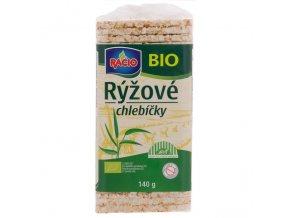 Chlebíčky rýžové 140 g BIO RACIO