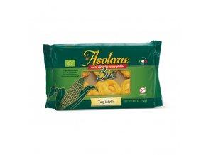 Nudle kukuřičné široké dlouhé (Tagliatelle) 250 g BIO LE ASOLANE