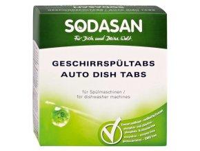 Tablety do myčky 25 ks SODASAN - DLOUHODOBĚ NEDOSTUPNÉ