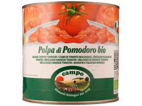 GASTRO - Rajčata sekaná sterilovaná 2,5 kg BIO