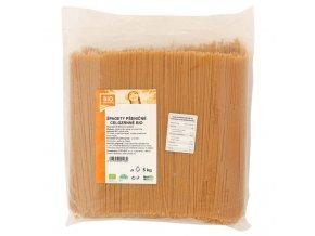 GASTRO - Špagety pšeničné celozrnné 5 kg BIO