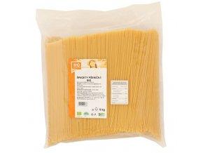 GASTRO - Špagety pšeničné bílé 5 kg BIO