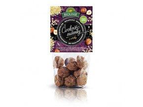 Sušenky čirokové s oříšky 100 g BIO BIOLINIE