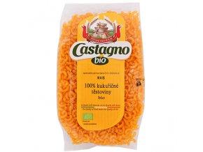 Těstoviny kukuřičné (100%) Cornetti 250 g BIO CASTAGNO