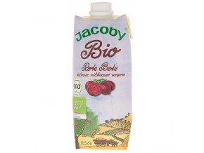 Šťáva z červené řepy 500 ml BIO JACOBY