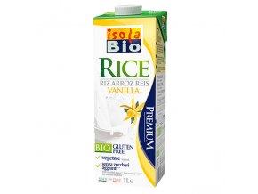 Nápoj rýžový vanilkový 1000 ml BIO ISOLA BIO
