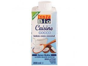 Krém kokosový na vaření a pečení 200 ml BIO ISOLA BIO