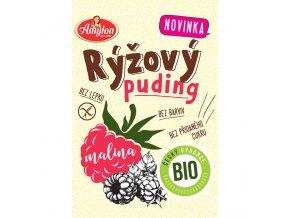 Puding rýžový s malinou 40 g BIO AMYLON