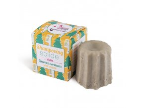 Lamazuna Tuhý šampon pro normální vlasy - borovice (55 g)