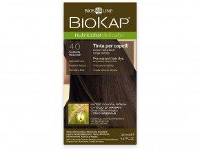 Barva na vlasy - 4.00 Hnědá přirozená 140 ml