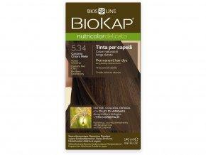 Barva na vlasy - 5.34 Medová kaštanová 140 ml