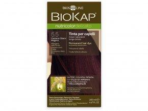Barva na vlasy - 5.50 Hnědá - světlý mahagon 140ml