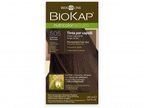 Barva na vlasy - 5.05 Hnědá - světlý kaštan 140ml