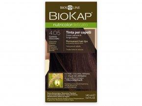 Barva na vlasy - 4.05 Kaštanovo čokoládová 140ml