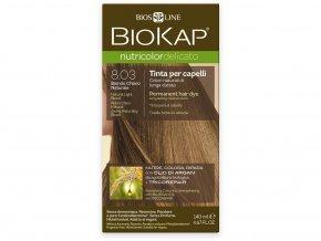 Barva na vlasy - 8.03 Blond přírodní světlá 140ml