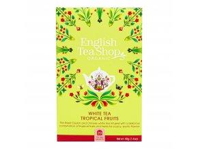 Čaj Bílý s tropickým ovocem 20 sáčků BIO ENGLISH TEA SHOP