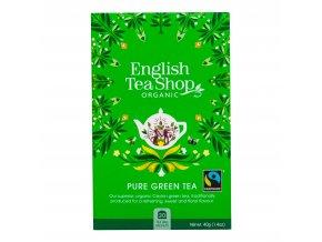 Čaj Zelený Fair Trade 20 sáčků BIO ENGLISH TEA SHOP