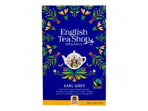 Čaj Earl Grey Fair Trade 20 sáčků BIO ENGLISH TEA SHOP