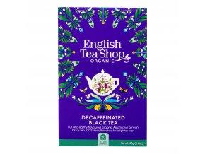 Čaj Černý bez kofeinu 20 sáčků BIO ENGLISH TEA SHOP