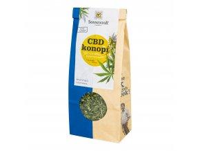 Čaj CBD konopí sypaný 80 g BIO SONNENTOR