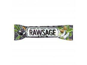 Tyčinka Rawsage olivová 25 g BIO LIFEFOOD