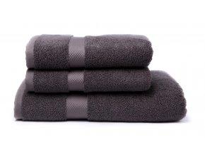Tierra Verde – Sada dvou ručníků a osušky – myší kožíšek