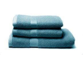 Tierra Verde – Sada dvou ručníků a osušky – tealová
