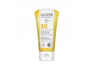 Opalovací krém Sensitiv SPF 30 BIO Anti-Age 50 ml Lavera