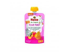 Ovocné pyré - PEAR PONY BIO pro děti 100 g Holle