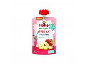Ovocné pyré - jablko, banán, hruška BIO pro děti 100 g Holle