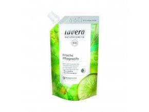Tekuté mýdlo Frische Pflegeseife - Limetka a citronová tráva BIO 500 ml Lavera
