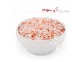 Himalájská sůl růžová hrubá 25 kg Wolfberry