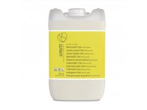 Prací gel na barevné prádlo COLOR Máta & Citron 20 l Sonett