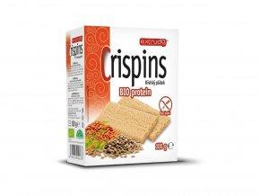 Bio křehký plátek Crispins proteinový 100g