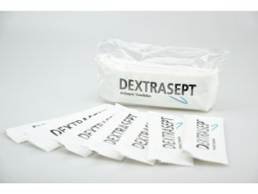 Vlhčené dezinfekční antiseptické ubrousky 20x15cm - Dextrasept balení 10ks (covid)