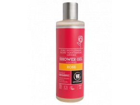 Urtekram Sprchový gel BIO růžový 250 ml