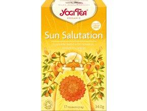 Bio Pozdrav slunci Yogi Tea 17 x 2 g