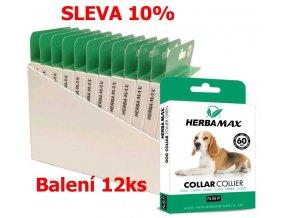 Herba Max Dog collar 60cm antipar. obojek-12KS-13509