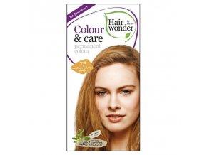 Hairwonder Dlouhotrvající barva STŘEDNĚ ZLATA BLOND 7.3 100 ml