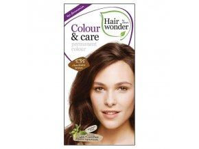 Hairwonder Dlouhotrvající barva BIO ČOKOLÁDOVÁ HNĚDÁ 5.35 100 ml