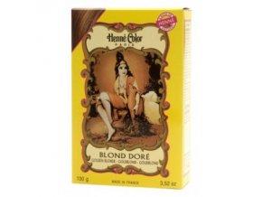 Barva na vlasy blond zlatá 100 g
