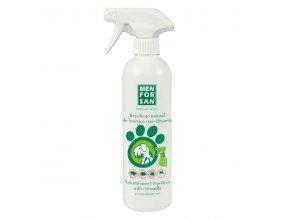 menforsan prirodni repelent pro psy proti hmyzu s extraktem z citronely 500 ml